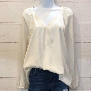 MNG Cream Blouse